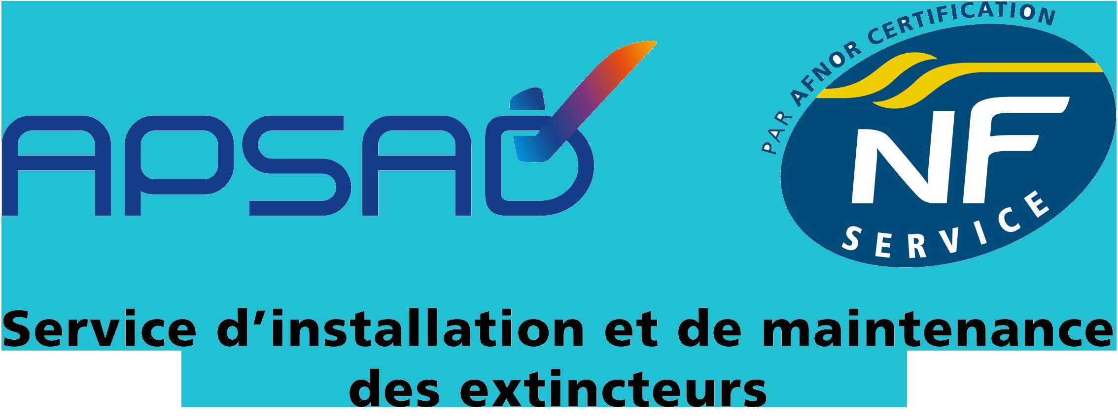 Logo certif - Extincteurs